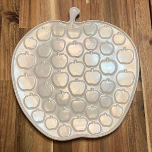 Jonathan Adler white apple platter